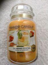 Yankee candle  'Calamansi Cocktail'  large jar
