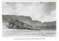 AK, Oberstdorf, Allgäu, Bahngelände, Gleise, Lok 98 1104, Feldarbeit, Landschaft