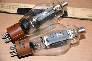 PAIR RCA 811A Vacuum TubeS HICKOK 539C TESTED