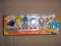 sonic the hedgehog classic collectors set jazwares exclusive metal amy badnik