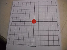 25 Sight-In Targets 11x12 Paper Rifle Pistol
