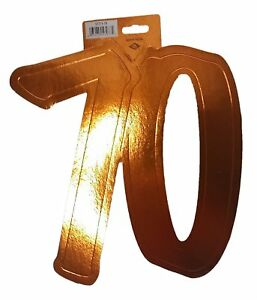 Beistle #70 Foil Silhouette (Gold color) Party Accessory (1 count)