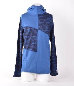 NWT MENS SMARTWOOL MERINO 250 SLOUCH HOODY $100 M Bright Cobalt/ Blue