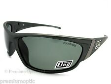 Dirty Dog Polarizado Stoat Gafas de Sol Gris Plata/Verde Polarizados 52993