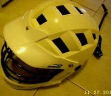 Brine Laccrosse Helmet white color used in great condition straps are very good