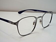 a8b60998ca Authentic Ray-Ban RB 6357 2878 Gunmetal Blue Eyeglasses DEMO Frame  230