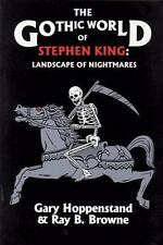 The Gothic World of Stephen King: Landscape of Nightmares-ExLibrary