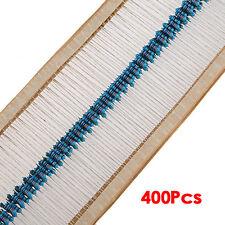 1/4w 5% Metal Film Resistor Kit 400pcs 40 Values Assortment/Pack/Mix/Selection