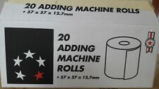 16 Adding Machine Rolls 57 X 57 X 12.7mm