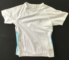 Tennis Shirt Women's Xl adidas White / Blue climalite