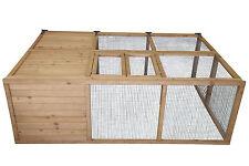 Hasenstall Kaninchenstall Kleintierstall Stall Freigehege klappbar XL