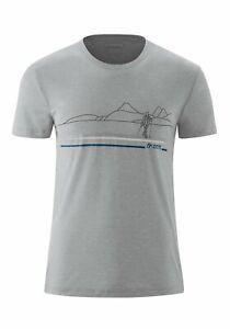 NEU Maier Sports Myrdal Print Funktionsshirt Herrenshirt Funktionsshirt Sportshi