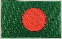 Bangladesch Aufnäher gestickt,Flagge Fahne,Patch,Aufbügler,6,5cm,neu