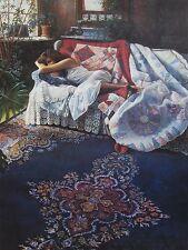 "Steve Hanks, ""Blue Morning"", ltd ed S/N print, 29.5x22 image, conservation paper"