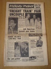 MELODY MAKER 1957 JULY 20 FREIGHT TRAIN NANCY WHISKEY BOB HOPE PATTI PAGE ELVIS