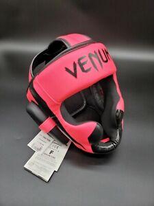 Venum Elite Boxing MMA Krav Maga Protective Headgear Neo Pink