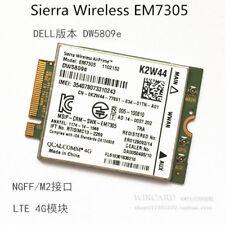 Gobi5000 EM7305 3G 4G LTE/HSPA+ GPS 100Mbps DW5809e Dell K2W44 52NX8 8GHFY card