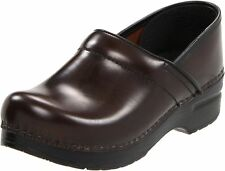 Dansko Women's Professional Cabrio Hickory Leather Clogs ( Size EU 39 )