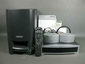Bose 321 Series II CD DVD Complete Home Entertainment Speaker System Tested IWC