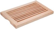 Brotschneidebrett mit herausnehmbarem Schneidrost geölt handwerkliche Qualität