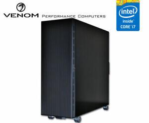 Venom BlackTop Taipan  ATX Full Tower Black Aluminum PC Case with Perspex window