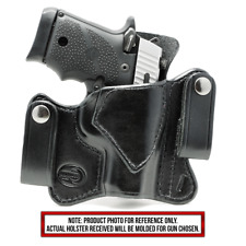 Sig Sauer P365 IWB Dual Snap Right Hand Black Leather Holster