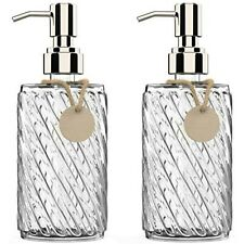 16oz Hand Soap Dispenser for Bathroom or Kitchen Sink with Rust Proof Pump