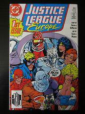 JUSTICE LEAGUE EUROPE #1 VG First Issue DC Comics Power Girl Flash (C0236)