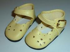 YELLOW HEART SHOES FOR KAYE WIGGS GIRLS & Layla / Miki's MSD SIZE FEET 64mm