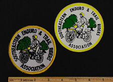 SOUTHEASTERN ENDURO TRAIL RIDERS ASSOCIATION PATCH & STICKER Husqvarna Maico KTM