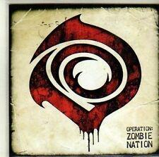 (CI768) O-ZN, Operation: Zombie Nation - DJ CD