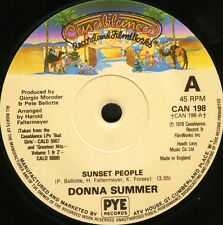"Donna Summer sunset people/our love Can 198 uk casablanca 1979 7"" Ws Ex/"
