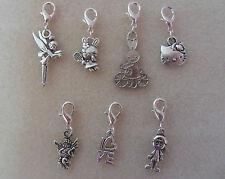 Clip On Charm, Miffy, Tinkerbell - Bracelet