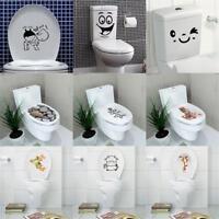 3D Toilet Seat Wall Sticker Vinyl Art Wallpaper Removable Bathroom Decals Decor,