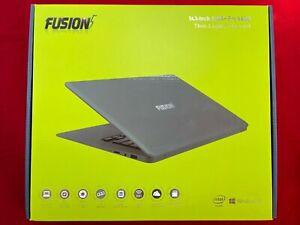 Fusion5 14.1inch A90B+ Pro 4Gb Ram 64GB Windows 10 Laptop Full HD IPS - Black
