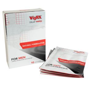 VigRX Delay Wipes Last Longer Male Enhancement Desensitizer - 1 Month Supply