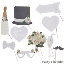 WEDDING SELFIE / PHOTO BOOTH PROPS - Beautiful Botanics Range