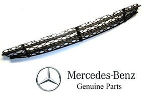For Mercedes Benz S500 S600 S430 S55 S350 Genuine Bumper Cover Grille NEW