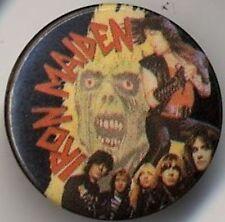 Iron Maiden Badge Button #4DELIGHT