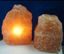 Red Selenite Lamp Crystal Lamp Gemstone Lamp Light Reiki Ckakra.