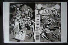 Lg. Production Art DETECTIVE COMICS #484 covers, ROSS ANDRU & GIORDANO, APARO