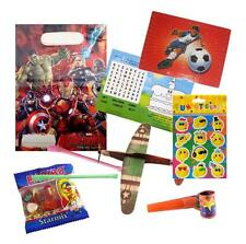 Pre Filled Boys Avengers Party Bag Ready Made Goody Loot Marvel Heroes Favours