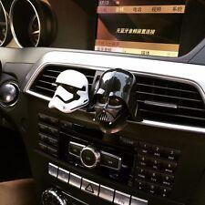 Darth Vader Auto Car Perfume Diffuser Head Car Vent Air Freshener Black