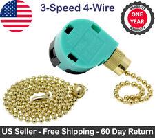 ZE-268S6 3 Speed 4 Wire Fan Switch For Hunter Harbor Breeze Hampton Bay 6A 125V