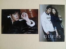 Korean Actor Lee Min Ho Minho Jean Brand Guess Postcard Post Photo Card - Type C