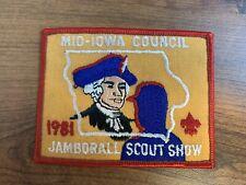 BSA, 1981 Jamborall Scout Show, Mid-Iowa Council