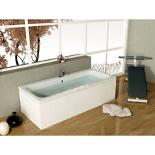 Vernwy 1700mm Double Ended Straight Bath Wide 800mm with-out Front End Panel