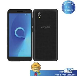 New Alcatel 1 One 5033X 8GB Black Unlocked 4G Smartphone 12M Warranty