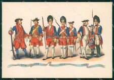 Militari Granatieri Sardegna Albania Uniformi Duval FG cartolina XF7237