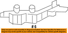 Dodge CHRYSLER OEM Avenger Front Bumper-Side Support Bracket Right 68081558AD